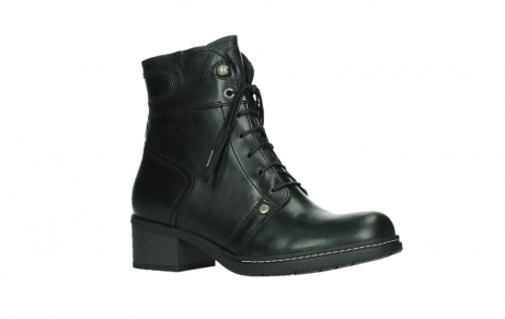 wolky lace up boots 01260 red deer 30000 black leather_3