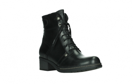 wolky lace up boots 01260 red deer 30000 black leather_4