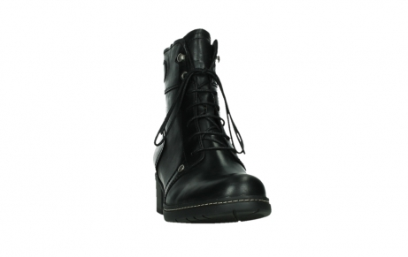 wolky lace up boots 01260 red deer 30000 black leather_6