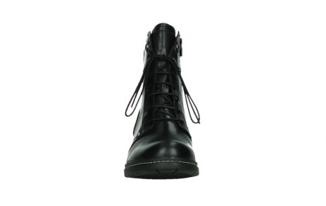 wolky lace up boots 01260 red deer 30000 black leather_7