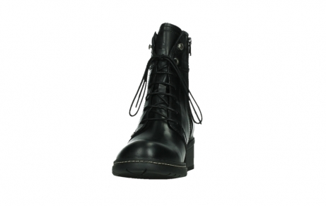 wolky lace up boots 01260 red deer 30000 black leather_8