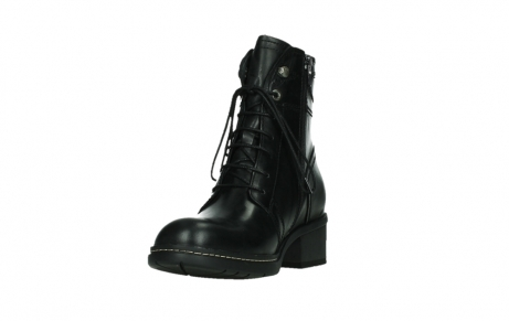 wolky lace up boots 01260 red deer 30000 black leather_9