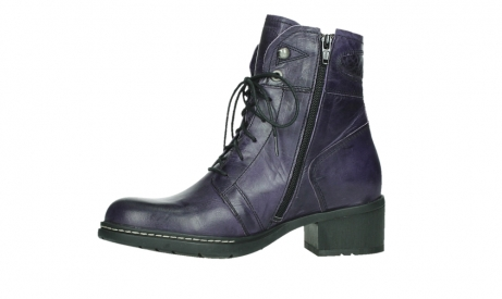 wolky lace up boots 01260 red deer 30600 purple leather_12