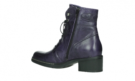wolky lace up boots 01260 red deer 30600 purple leather_15