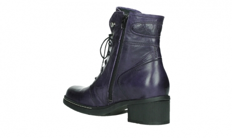 wolky lace up boots 01260 red deer 30600 purple leather_16