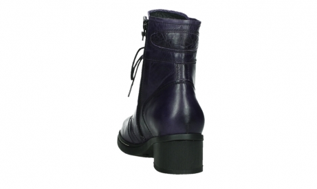 wolky lace up boots 01260 red deer 30600 purple leather_18