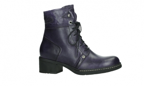 wolky lace up boots 01260 red deer 30600 purple leather_2