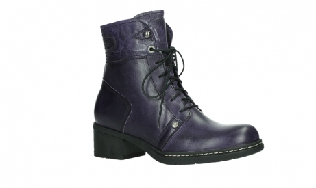 wolky lace up boots 01260 red deer 30600 purple leather_3