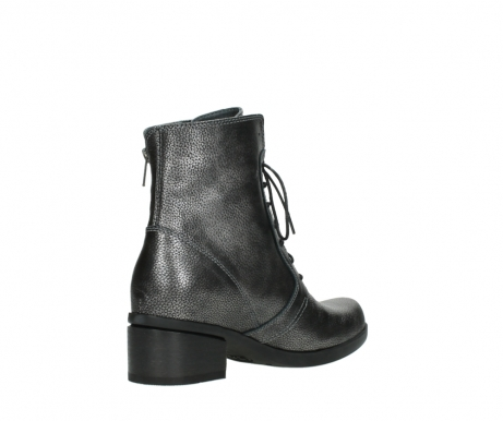 wolky lace up boots 01377 forth 81280 metal grey leather_10