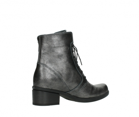 wolky lace up boots 01377 forth 81280 metal grey leather_11