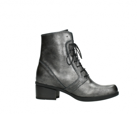 wolky lace up boots 01377 forth 81280 metal grey leather_14