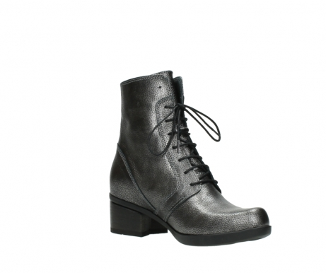wolky lace up boots 01377 forth 81280 metal grey leather_16