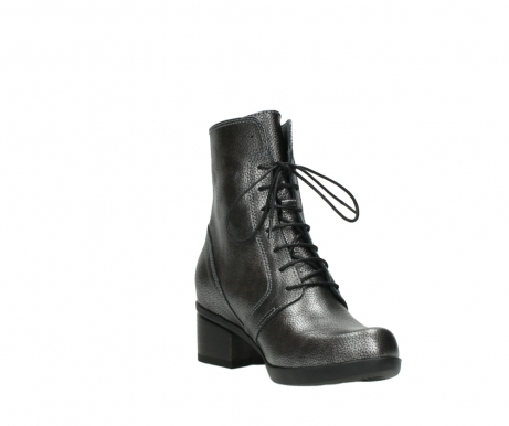 wolky bottines a lacets 01377 forth 81280 cuir gris metal_17