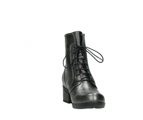 wolky lace up boots 01377 forth 81280 metal grey leather_18