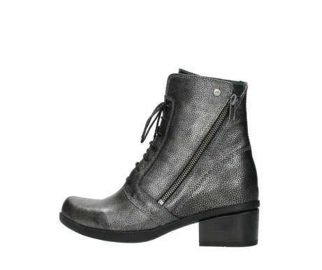 wolky lace up boots 01377 forth 81280 metal grey leather_2