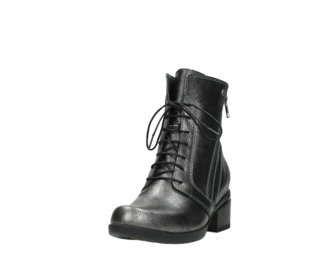 wolky lace up boots 01377 forth 81280 metal grey leather_21