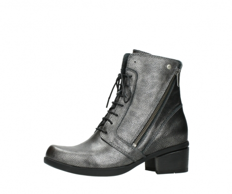 wolky lace up boots 01377 forth 81280 metal grey leather_24