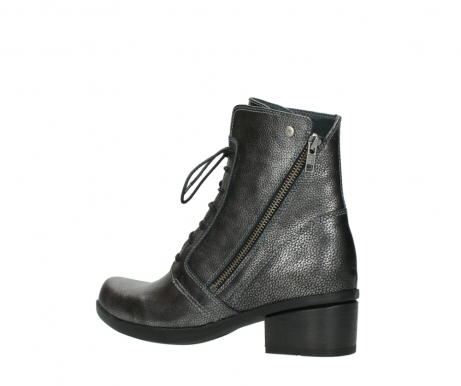 wolky lace up boots 01377 forth 81280 metal grey leather_3