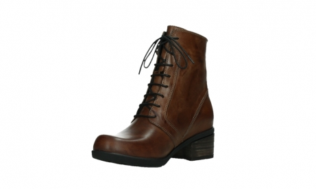 wolky lace up boots 01380 forth xw 30430 cognac leather_10