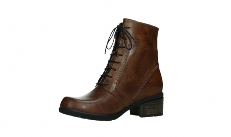 wolky lace up boots 01380 forth xw 30430 cognac leather_11
