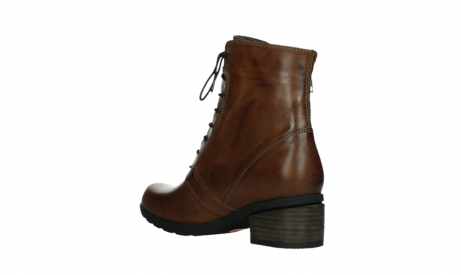 wolky lace up boots 01380 forth xw 30430 cognac leather_16