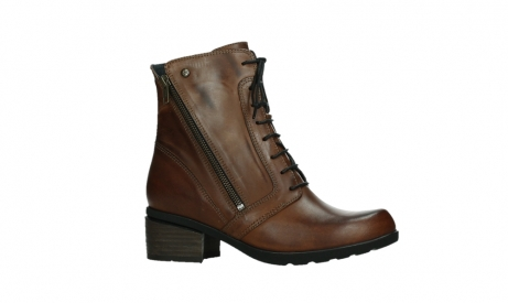 wolky lace up boots 01380 forth xw 30430 cognac leather_2
