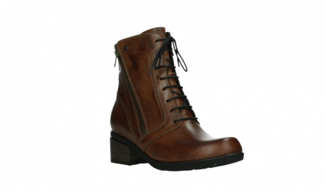 wolky lace up boots 01380 forth xw 30430 cognac leather_4