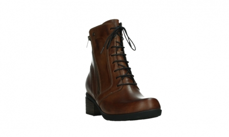 wolky lace up boots 01380 forth xw 30430 cognac leather_5