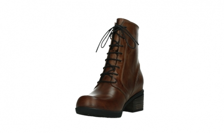 wolky lace up boots 01380 forth xw 30430 cognac leather_9