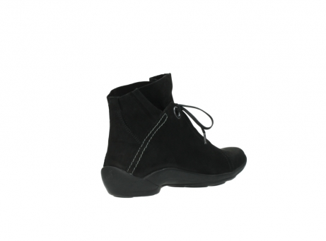 wolky lace up boots 01657 diana 50000 black oiled leather_10