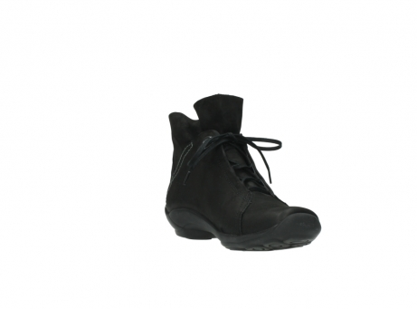 wolky lace up boots 01657 diana 50000 black oiled leather_17