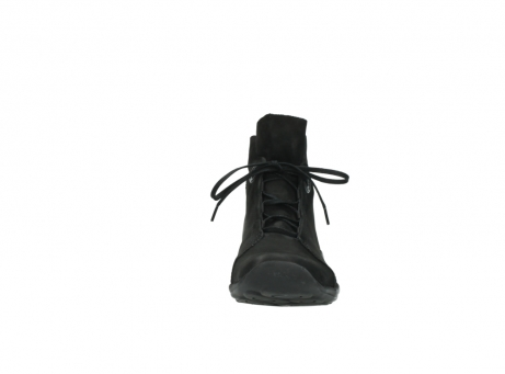wolky lace up boots 01657 diana 50000 black oiled leather_19