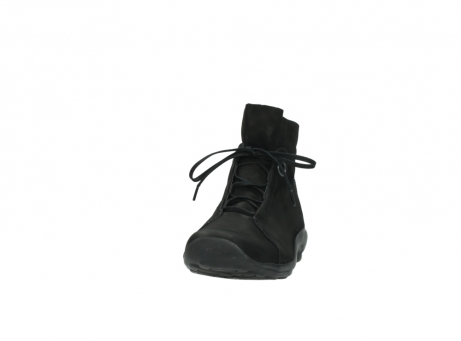 wolky lace up boots 01657 diana 50000 black oiled leather_20