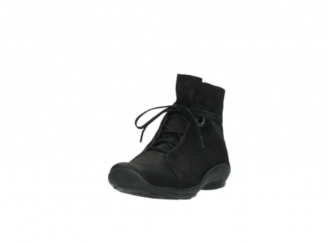 wolky lace up boots 01657 diana 50000 black oiled leather_21