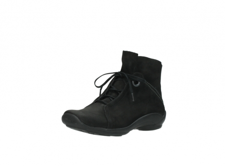 wolky lace up boots 01657 diana 50000 black oiled leather_22