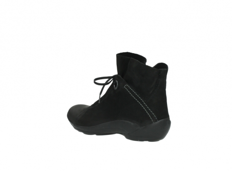 wolky lace up boots 01657 diana 50000 black oiled leather_4