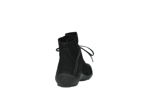 wolky lace up boots 01657 diana 50000 black oiled leather_8