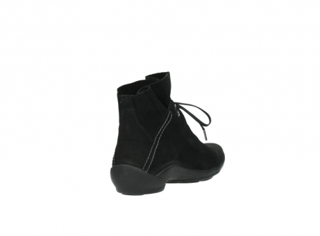 wolky lace up boots 01657 diana 50000 black oiled leather_9