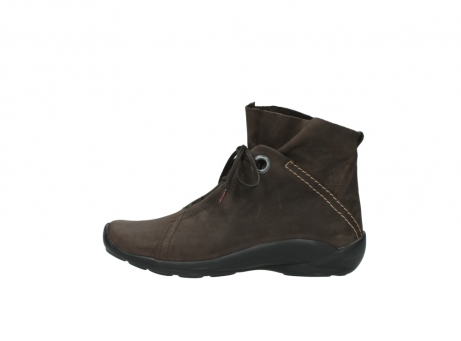 wolky bottines a lacets 01657 diana 50300 cuir marron_1