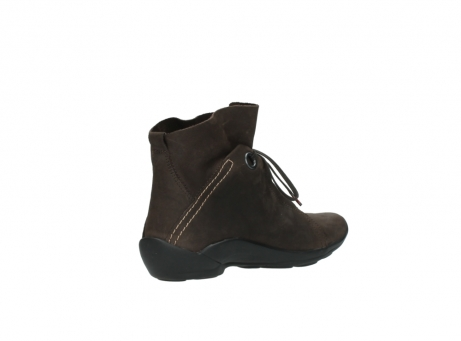 wolky bottines a lacets 01657 diana 50300 cuir marron_10