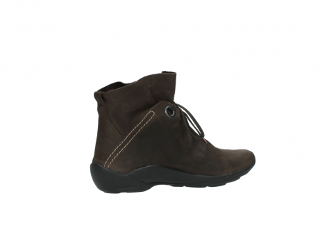 wolky bottines a lacets 01657 diana 50300 cuir marron_11