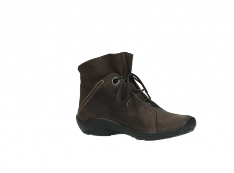 wolky bottines a lacets 01657 diana 50300 cuir marron_15
