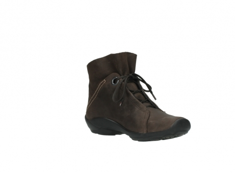 wolky bottines a lacets 01657 diana 50300 cuir marron_16
