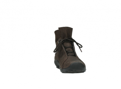 wolky bottines a lacets 01657 diana 50300 cuir marron_18