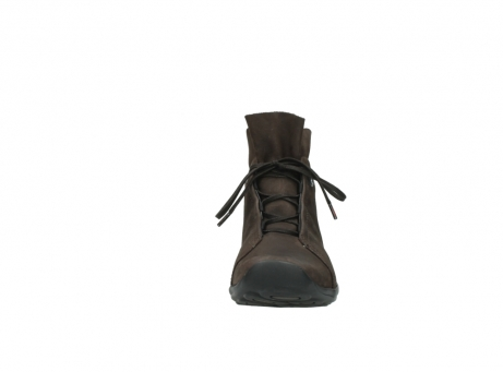 wolky bottines a lacets 01657 diana 50300 cuir marron_19