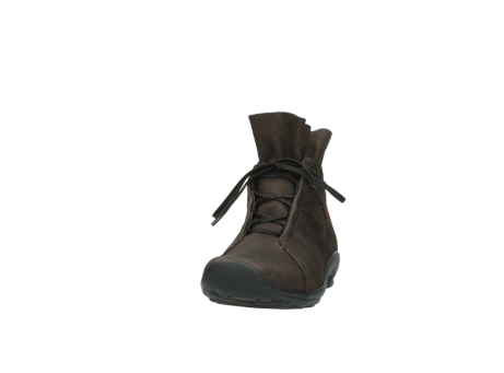 wolky bottines a lacets 01657 diana 50300 cuir marron_20