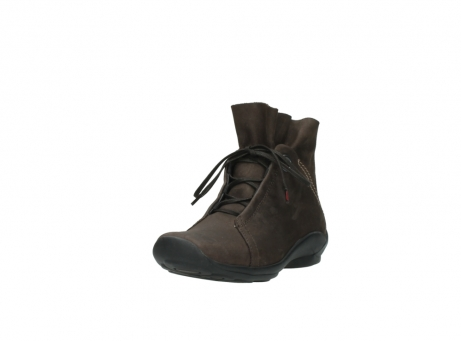 wolky bottines a lacets 01657 diana 50300 cuir marron_21