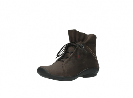 wolky bottines a lacets 01657 diana 50300 cuir marron_22