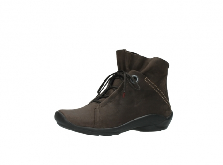 wolky bottines a lacets 01657 diana 50300 cuir marron_23