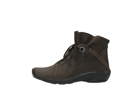 wolky bottines a lacets 01657 diana 50300 cuir marron_24